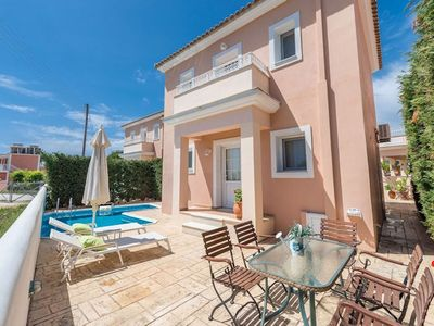 Photo for Villa Lavender Sostis is located close to Agios Sostis which is a peaceful beach resort.This two bed