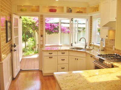 New Sunny Gourmet Kitchen with Huge Skylight Above