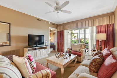 Living Room - Welcome to Naples! This condo is professionally managed by TurnKey Vacation Rentals.