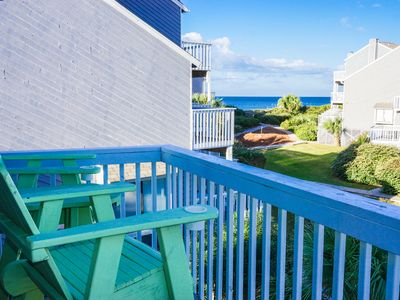 Photo for 3 or 6 nt special 6/2-8: GULF VIEW END UNIT * 75 steps to beach