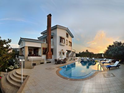 Photo for High Quality Villa with 50 sqm Heated Pool Only 4km to Chania City & the Beach