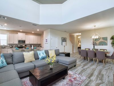 Photo for MINUTES TO DISNEY, RESORT COMMUNITY,GAME ROOM,  2 MASTER SUITES, FREE WIFI!