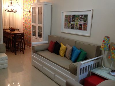 Photo for Cantinho em Copa, renovated, decorated, ideal for families, great location