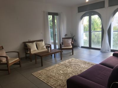 Photo for Bright airy apartment - Best spot in Jerusalem!