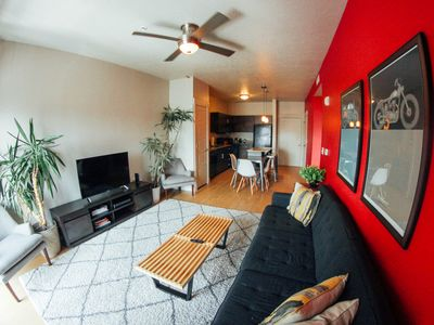 Photo for DWNTWN SLC - 1 BR/1BA 5 Star Hip flat- 319