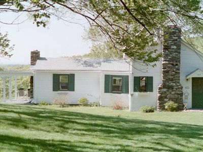 Photo for Berkshires Hudson Valley View Cottage - Private & Quiet