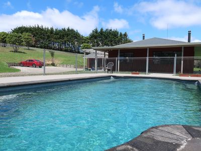 Photo for Stunning house for a relaxing holiday with swimming pool in Helensville