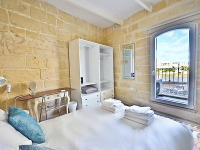 Photo for Birgu Home in Vittoriosa w/ Balcony Views of The Grand Harbour | EPL 6B
