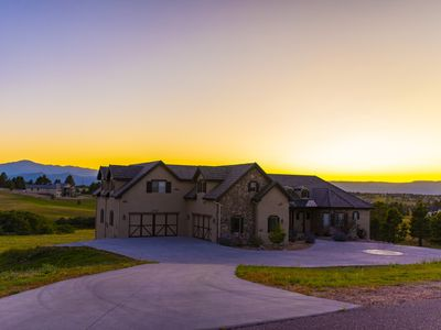 Photo for Million Dollar Mansion With Epic Mountain Views, Endless Hot Water