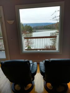 Photo for Book your spring weekend now. Gorgeous Mt retreat in gated community.