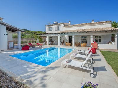 Photo for BEAUTIFUL VILLA CRESTATX IN QUIET AREA WITH PRIVATE POOL & FAMILY FRIENDLY