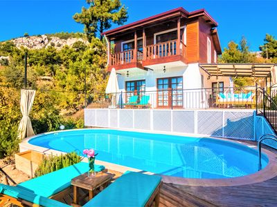 Photo for Peaceful and Natural Mountain Villa with Amazing SeaView in Islamlar Village