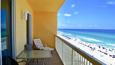 Photo for Modern 3-Bed Gulfront Condo at Calypso Overlooking the Gulf!