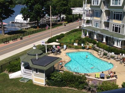 Photo for Fourth Floor Luxury Condo with Panoramic View of Chautauqua Lake