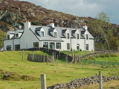 Photo for Much loved family-friendly house, coastal setting in the Highlands