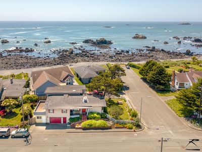 Photo for Seaside Family Retreat - up to 5 Bdrms,Ocean Views & 200 feet to the beach!