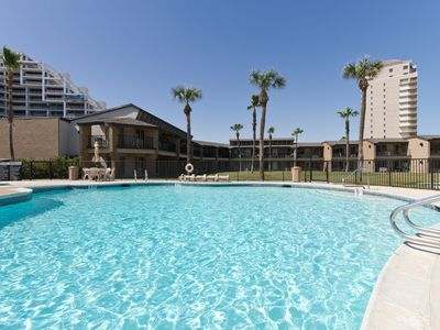 Photo for Sunchase Beachfront #227! Balcony with Ocean Views, Pool & Hot Tub! Close to Everything!