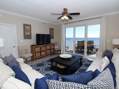 Photo for Windemere 708-Beach View From Terrace with Luxurious Interior!