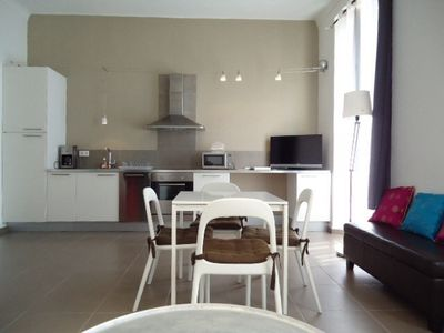 Photo for Cannes Studio near the Palais des Festivals (wifi, sheets, towels included)