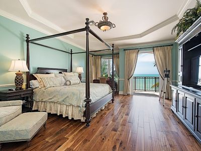 Captiva Island Master Bedroom Suite-private balcony with Gulf of Mexico luxury
