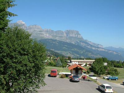 Photo for Apartment in the village center of Combloux