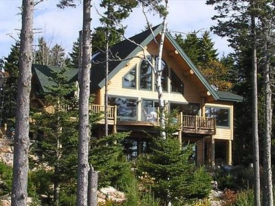 Photo for Beautiful Ocean Views, Large Cabin Home with Floating Dock. Oceanfront, Spacious