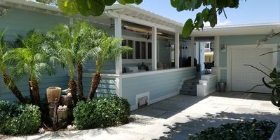 """Photo for """"Paradise Living"""" Beautifully newly remodel 2/2 Bungalow with water access."""