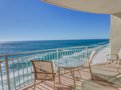 Photo for 2020 Remodel Gulf-Front 2BR+Bunks at Aqua - Walk to Pier Park
