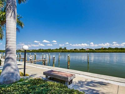 Photo for Barefoot Beach Condo B204 - Coastal cottage overlooking the pool and Intracoastal waterway.  Just a steps to the beach!  Free Wifi & Cable
