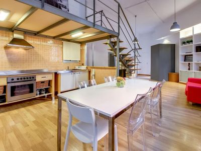 Photo for Spacious and modern, well-connected loft ideal for groups or families