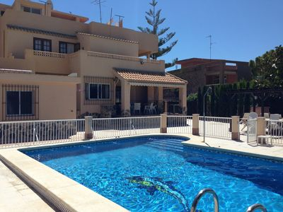6 bedroom with 6 bathroom Villa with own pool, well secluded close to sea