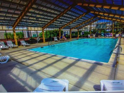 Photo for Ocean View Condo@Beach Front Resort 150' Waterslide Indoor Pool Tennis Mini Golf