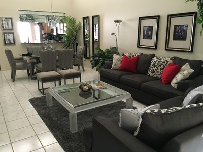 All new living room furniture.