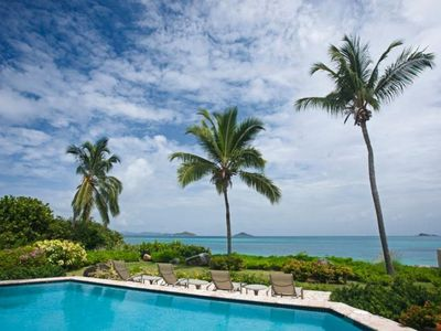 Photo for Caribbean Wind - Luxury Beachfront Villa At Mahoe Bay