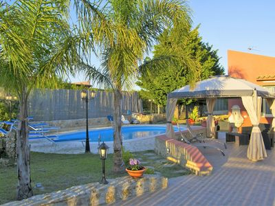 Photo for Beautiful private villa for 10 people with private pool, WIFI, TV and parking