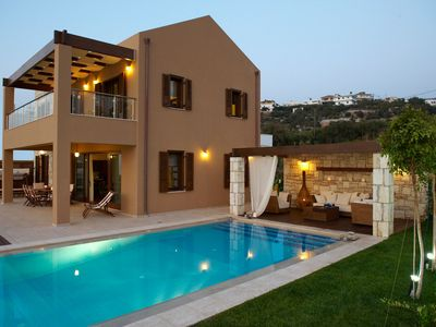 Photo for Luxury 3 Bedroom Villa with Private Pool with breath-taking panoramic sea and mountain Views