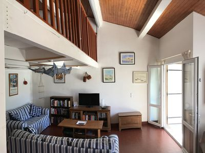 Photo for Seaside house/villa with air conditioning WiFi and parking.