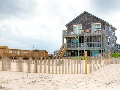 Photo for Oceanfront w/ Beach Boardwalk, Pool, Hot Tub, Pier & Chicamacomico Passes & More