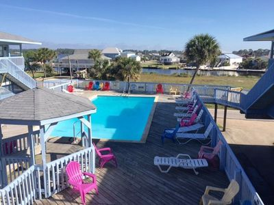 Photo for Cute Unit~Beach Access Close by!! Boat Launch on site! Little Lagoon Views!