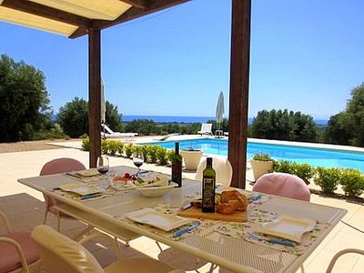 Photo for Beautiful private Villa for 6 guests With Private Pool And Sea View
