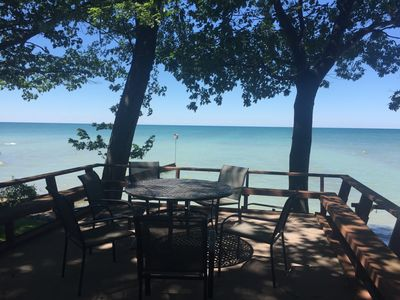 Photo for Lake Huron Waterfront -Private winterized beachfront