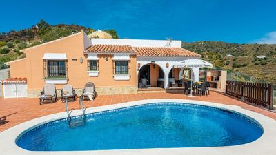 Photo for Welcoming holiday home in the hills of Torrox - dream views