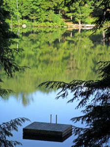 Photo for Beautiful A-frame on quiet lake near Middlebury