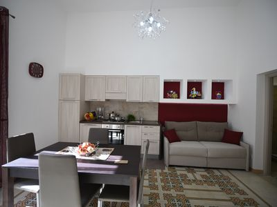 Photo for Apartment 2 steps from the sea in the scenery of Castellamare del Golfo