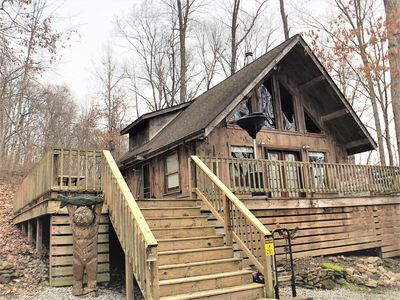 Photo for Red Hickory — A secluded and romantic retreat in the woods.