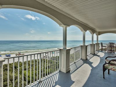 Photo for Gorgeous Beachfront Condo on 30A w/ Gulf Views & Amazing On-Site Amenities!