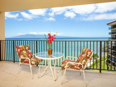 Photo for NEW! Oceanfront Hololani condo w/breathtaking views near beach & shared pool