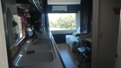 Photo for rented mobile home with a beautiful view of the sea. :) :) :) .....................