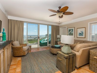 Photo for Beachfront, Spacious, and Luxurious! This Condominium is Steps and Great for Families!