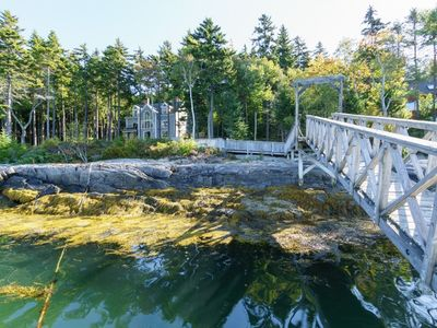 Photo for Beautiful Post & Beam Style Home Perched Overlooking Gun Point Cove in Harpswell